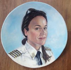 Smadar Shechter, First Woman Captain