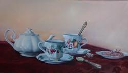Aunt Sarah's Tea Set