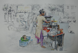 Street Scene (India)