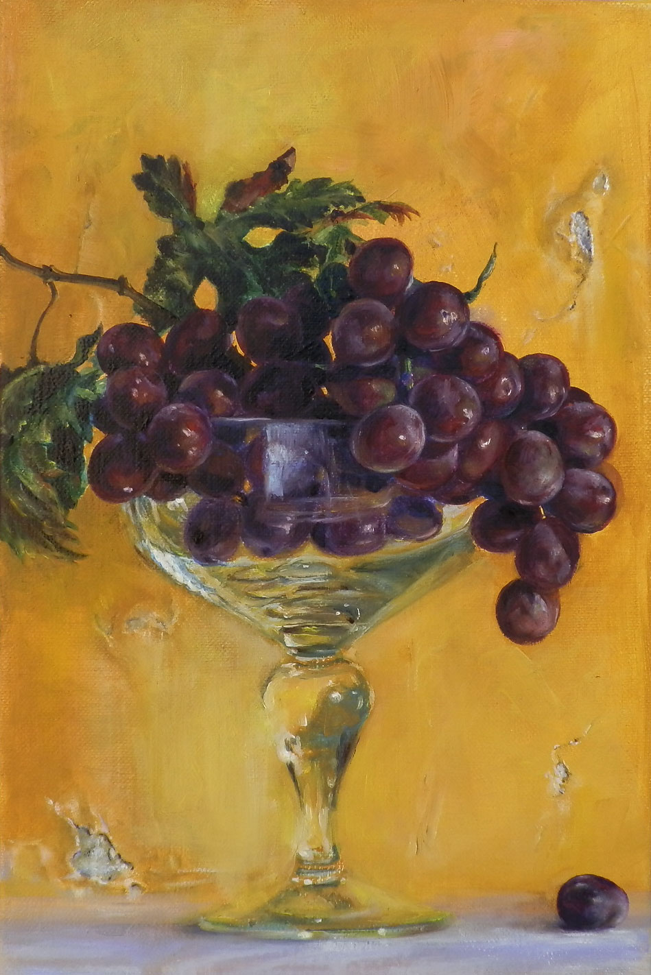 Glass and Fruit IV