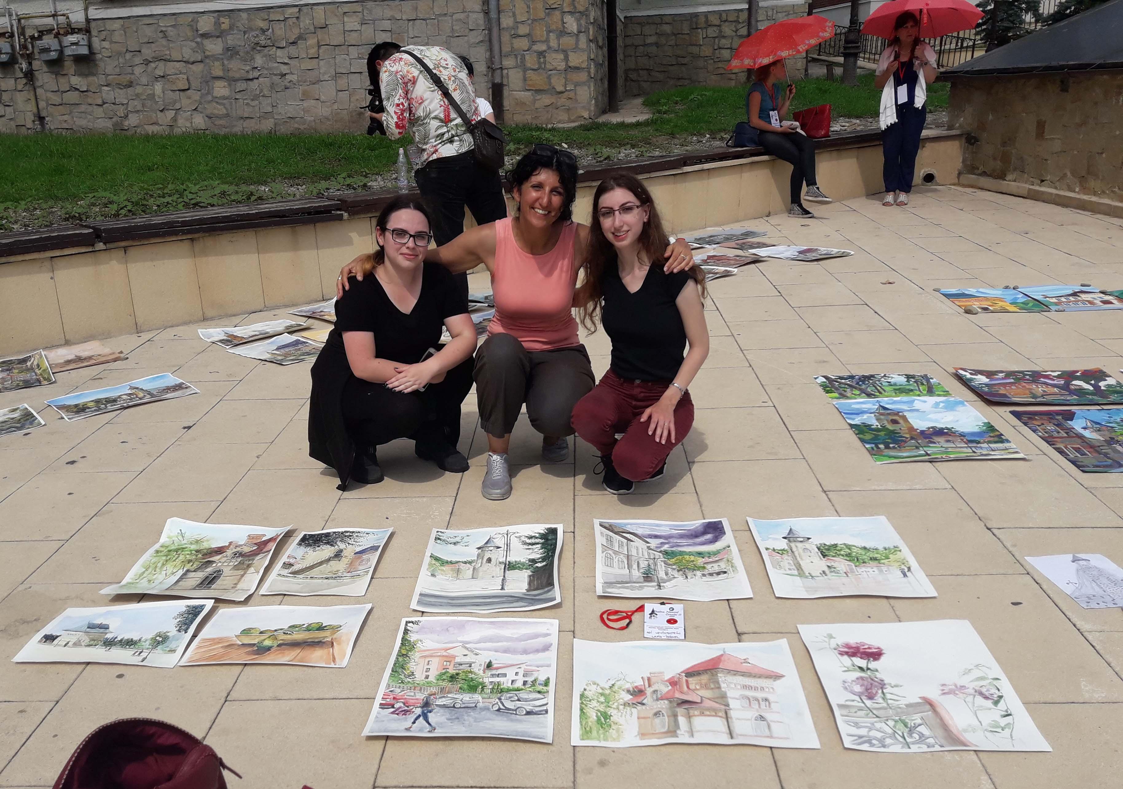 The Israeli art team