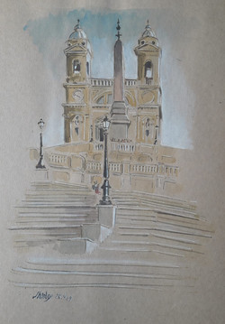 Rome journal- Spanish steps