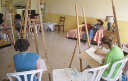 Art lesson - Painting the human body