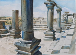 Golan journal 2020- Ancient synagogue