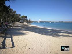 Río San Pedro, Playa de la Ministra