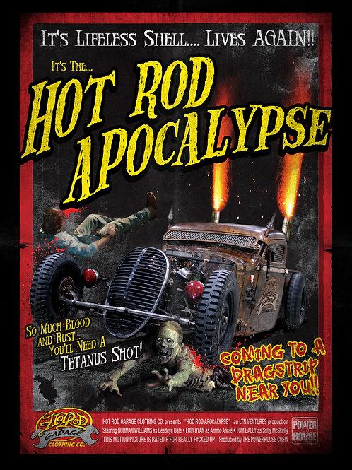 Hot Rod Garage Clothing Company Hot Rod Apocalypse Metal Sign