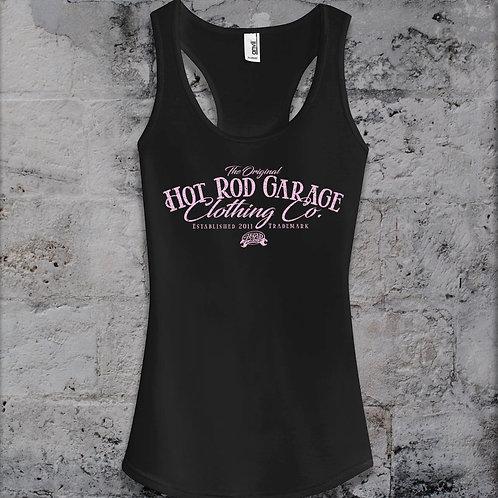Hot Rod Garage Clothing Company Ladies Razor Back Tank Top