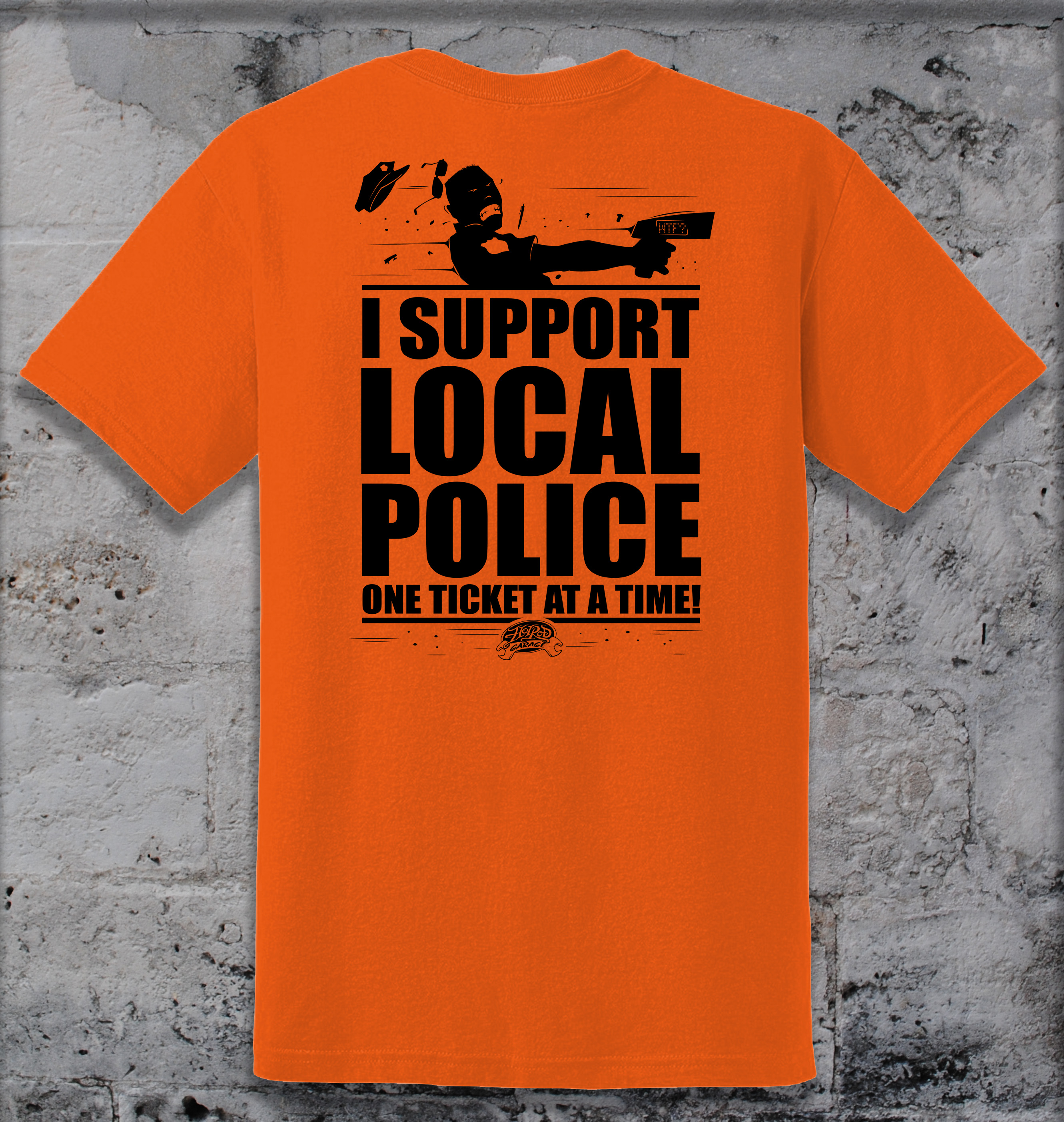 HRGCC Support Police Tee