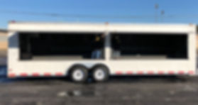 Merchandise trailer for lease or rent