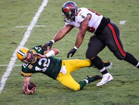 Packers 10 x 38 Buccaneers: Derrota sintomática escancara a dependência de Rodgers