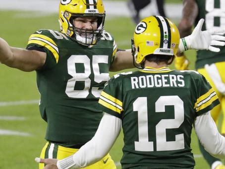 Bears 25 x 41 Packers: Atropelamento que dá moral e praticamente garante o bi da NFC Norte