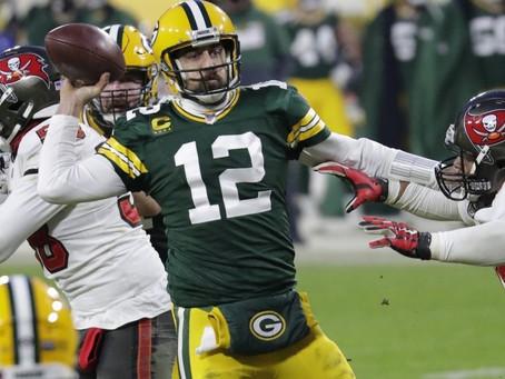 Bucs 31x26 Packers: Green Bay virou o time do quase e que falha em grandes jogos.