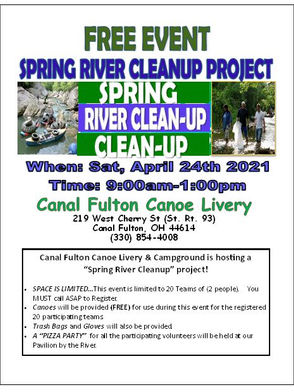 April River Clean Up