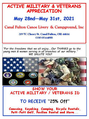 Military Appreciation Weekend