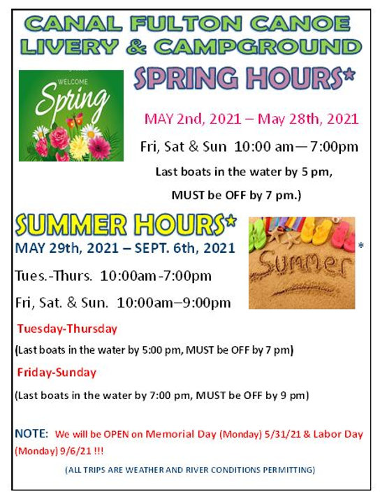 Spring and Summer Hours Update.JPG