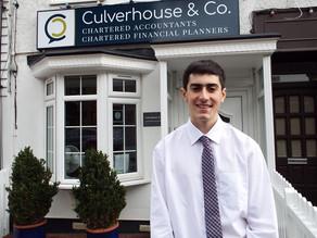 Welcome to the Culverhouse & Co Team Ben!