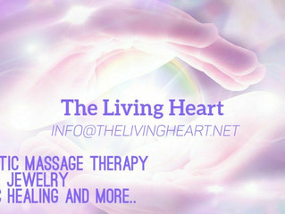 The Living Heart now offers Therapeutic Massage Therapy
