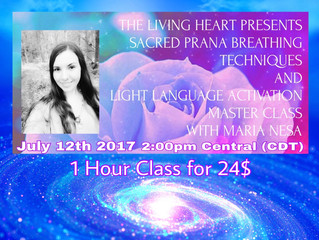 Prana Breathing & Light language Activation Master Class