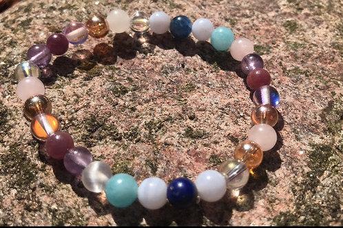 Ascension Bracelet and Earrings