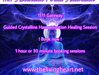 11:11 Gateway Portal Crystalline Activation with Maria Nesa and Council of Light