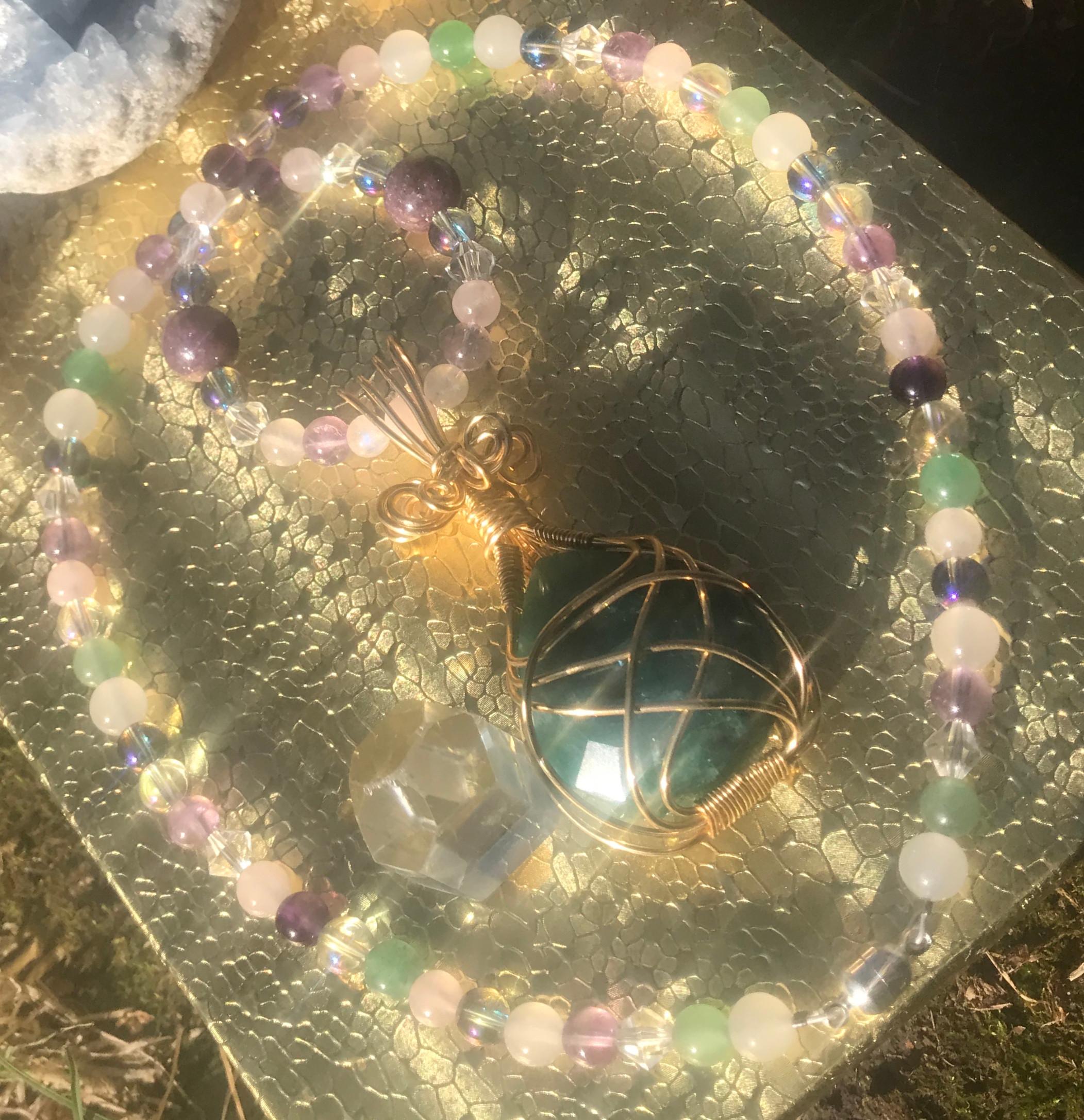 Handcrafted Gemstone Necklace