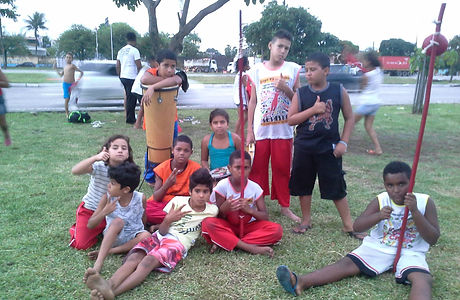 Straßenkinder Projekt in Brasilien