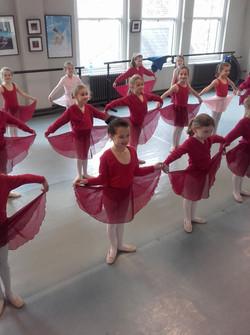 Ballet red littles