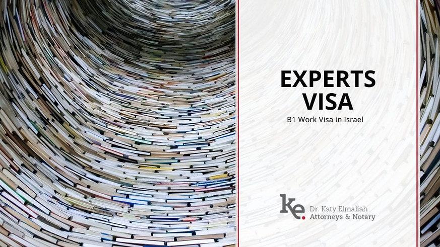 B1 Experts visa Israel Elmaliah law office