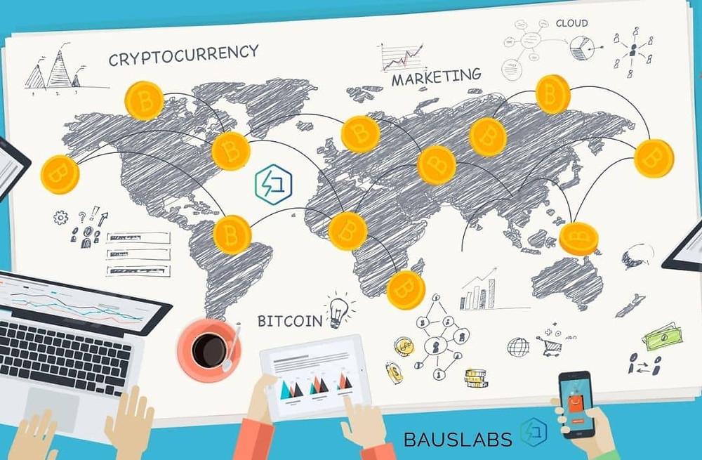 Crypto Marketing blockchain Bauslabs agency