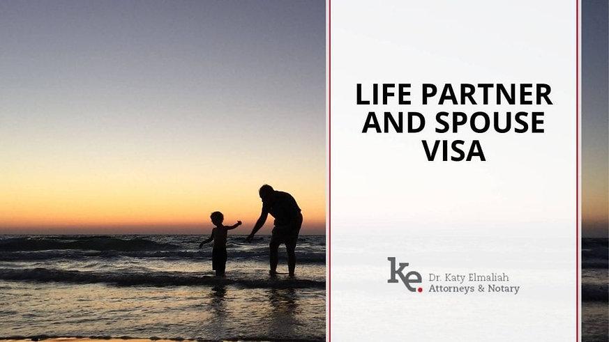 Elmaliah law firm Israel Life Partner and Spouse visa