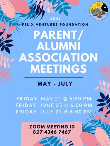 NEW ParentAlumni Association Meeting Fly
