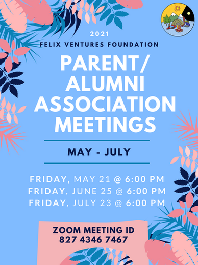 NEW ParentAlumni Association Meeting Fly