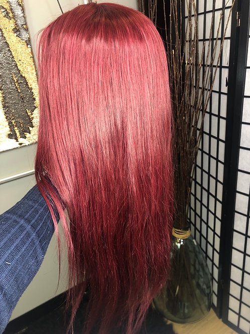 """22"""" Cherry Cola Lace Front"""