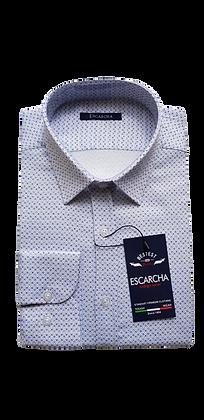 Blue Micro Floral Shirt