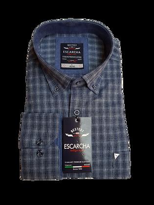 Black Check Navy Shirt