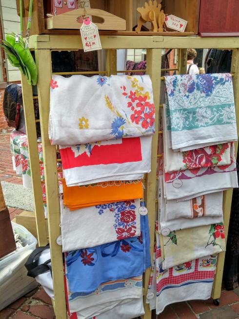 vintage-tablecloths-derby square fsa, dseger, salem, ma, may 2016