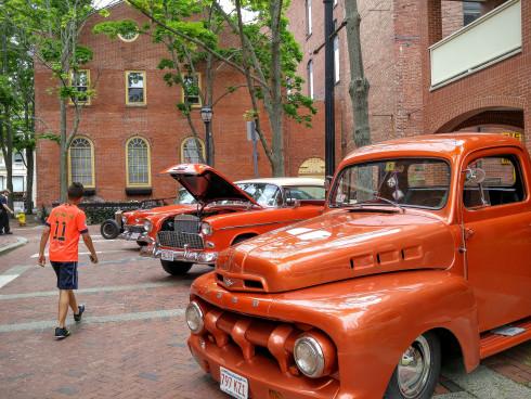vintage cars, dseger, salem, ma, may 2016