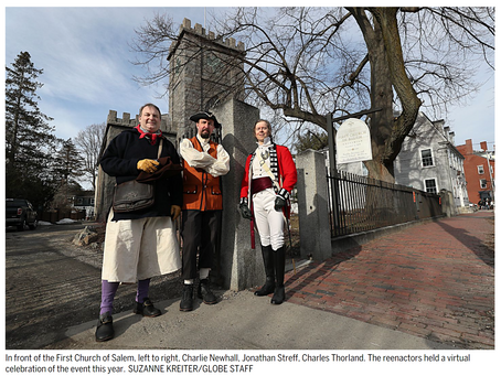 In Salem, a run-up to Revolution is remembered