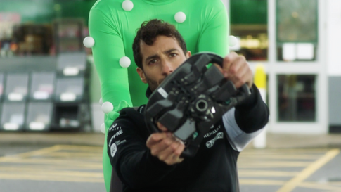 The Commercial, Behind the Scenes