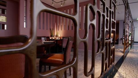 David Collins Studio - Ella Canta Restaurant