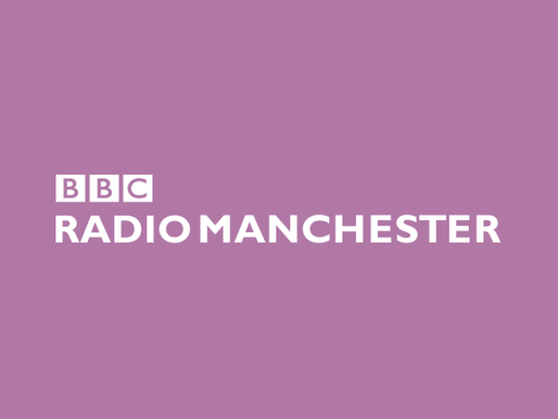 Ryan appears on BBC Radio Manchester