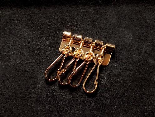 4連キーホルダー金具