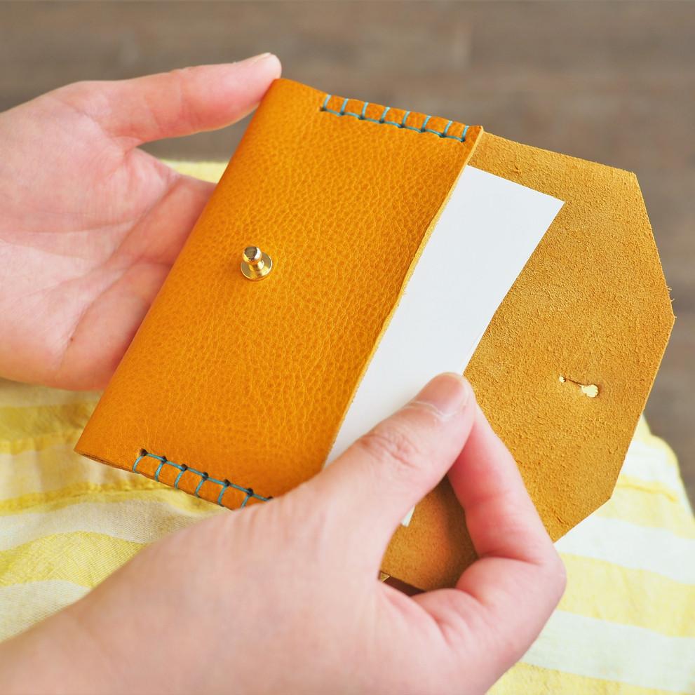 シンプルな名刺入れ(カードケース)