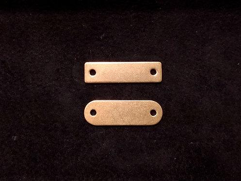 真鍮製ネームプレート