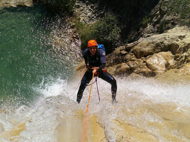Canyoning La Bordonera