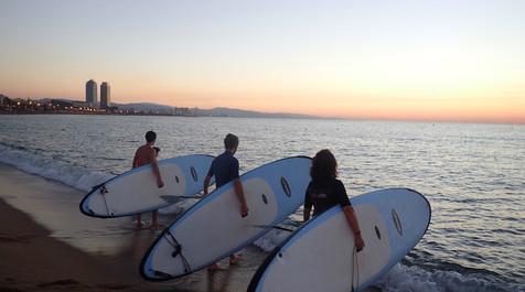 Sunrise SUP Barcelona
