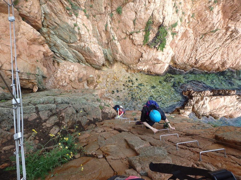 Cala Molí - Sant Feliu de Guixols - Via Ferrata