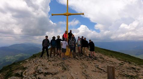 Yepalo at the top of the Taga