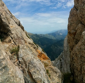 view from pedraforca mountain