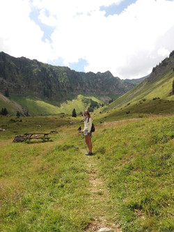 hiking Alpes 2